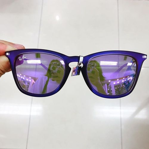 It's time to change the glasses!!! Rb4221f Violet Sunglasses Soontobetransformed Prescriptionglasses