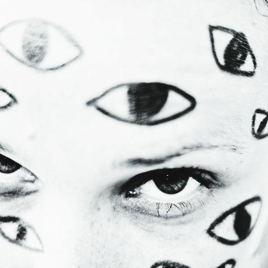 Evil Eye EyeEm Eyes Black & White