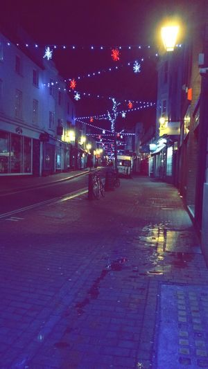 The North laines at Christmas Brighton Christmas Light Cityscapes
