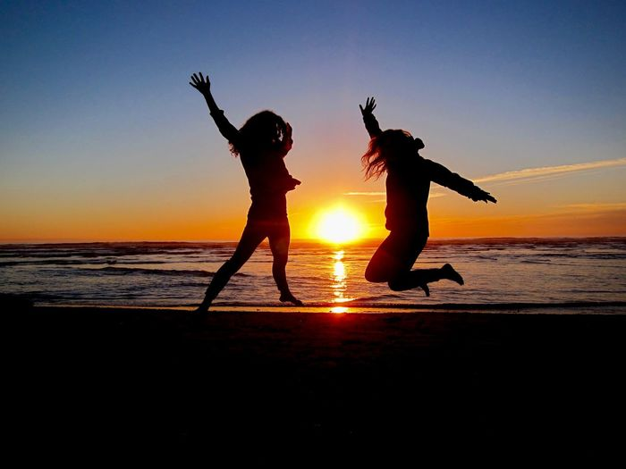Jump! Sunset