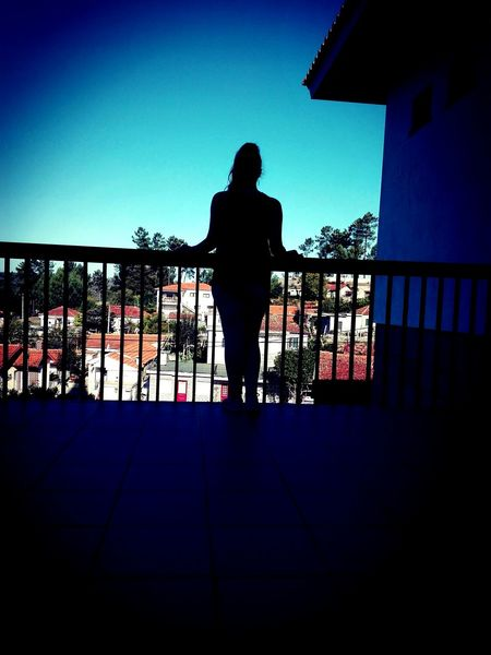 Photography Life Is A Journey Life In Colors Perspective Life Photo Sky Sillohouette Women Sillouette Blue Sky