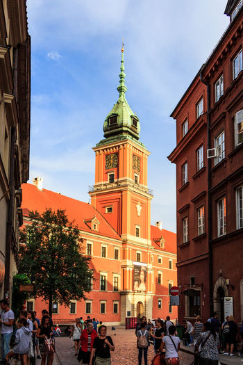 700D Architecture EOS EOS700D Poland Pologne Tourist Warsaw Warsaw Poland Warszawa  Architecture Blue Sky Building Exterior Built Structure Canon Canon_official Canon_photos Europe Outdoors Religion Summer Tourism Tower Travel Destinations