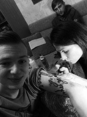 Getting Inked Tattooed