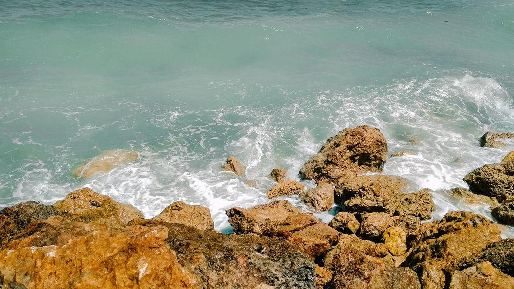 Water Wave Sea Beach Splashing Close-up