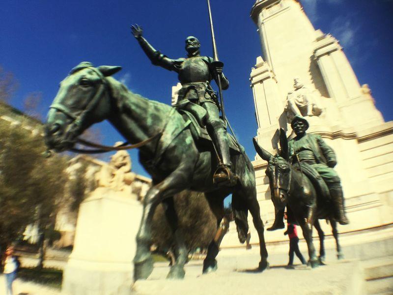 Miguel Cervantes Monuments