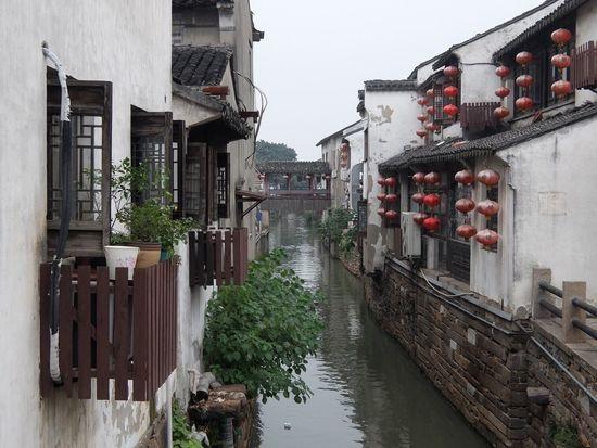 Zhouzhuang Water Village China Kunshan 昆山 Zhouzhuang Water Water Village Old Travel Traditional Chinese River Village Lantern Rustic ASIA