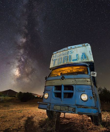 Long Exposure Milky Way Star - Space Night Astronomy Car Outdoors No People Galaxy Constellation EyeEmNewHere My Best Photo My Best Photo