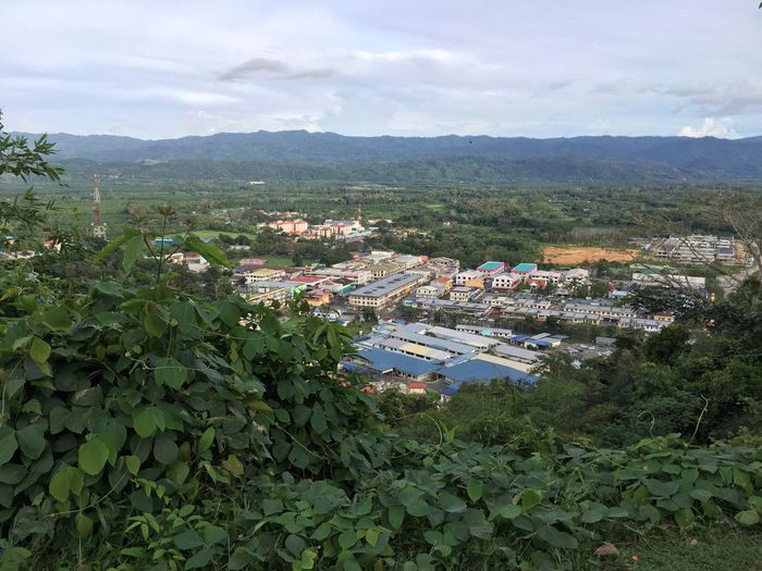 This photo score 93%😄 Residential District Landscape Residential Building Outdoors Village View Countryside Mountain The Purist (no Edit, No Filter) Iphonephotography Tenom Whats On The Roll Village The Roll Agriculture No People