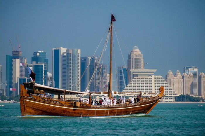 QDhow Dhowcruise Boat Doha Qatar Taking Photos Eyeem Philippines Eyeem Doha EyeEm Qatar Malephotographerofthemonth Showcase: January Landscape My Favorite Photo 2016 EyeEm Awards