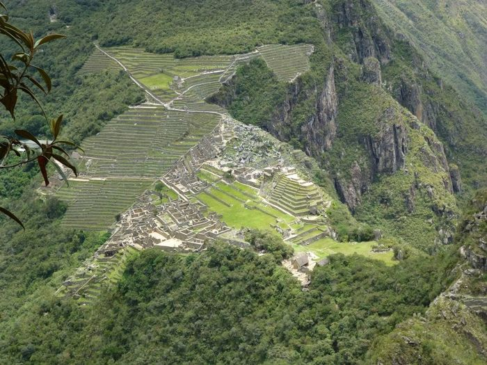 Scenics - Nature Landscape High Angle View Ancient Civilization History Outdoors Aerial View Beauty In Nature Tranquility