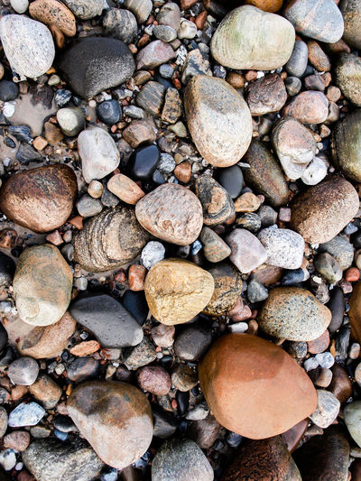 Abundance Close-up Colored Stones Colors Of Nature Large Group Of Objects No People Rock - Object Rounded Stones Small Stones Stone - Object Stones Stones On Beach
