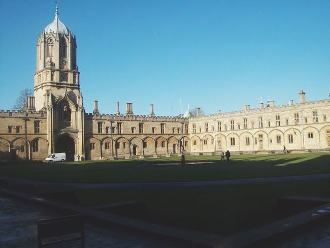 Harry Potter's school Poudlard Culture Christ Church Harrypotter Oxford Great Britain England Architecture