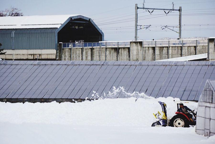 寒い 雪かき 夕方 Japan Iwate Snow Snow ❄ EyeEm Best Shots EyeEm Nature Lover EyeEmBestPics EyeEm EyeEm Gallery Eyeemphotography Eye4photography