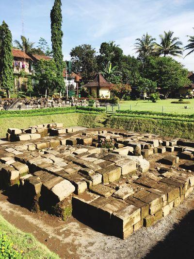 Mendut Relics Ancient Temple Yogyakarta IPhoneography Iphone6s