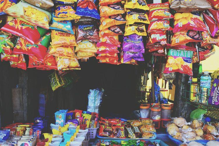 Sarisari Store Color Explosion Eyeem Philippines Graceful of food I felt=)