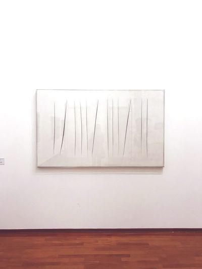 Concetto 1964 - Lucio Fontana. Conceptual Photography  Lucio Fontana Artist Artphotography Art Gallery Arts Culture And Entertainment Architecture Art