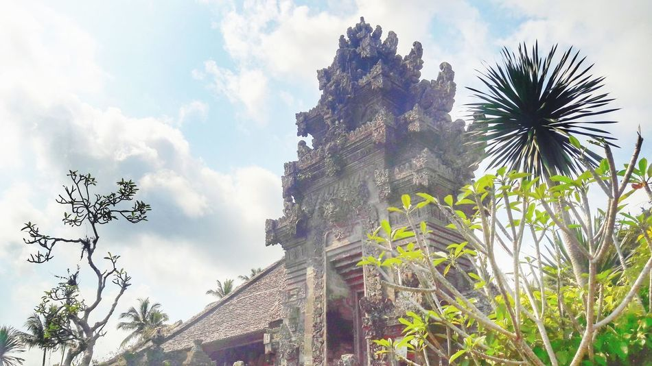Pura at Penglipuran Village Landscape My Best Travel Photo Village Bali LocalGuides INDONESIA Tree City Palm Tree Sky Architecture Cloud - Sky Historic Civilization Greenery
