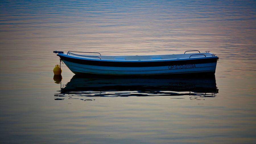Boats in sea