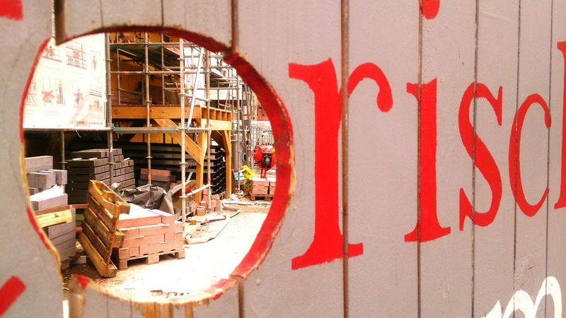 Learn & Shoot: Layering Historisches Museum Frankfurt Frankfurt Am Main Construction Site The OO Mission