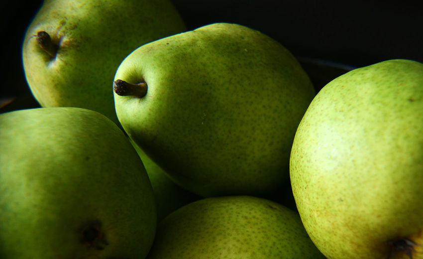 Close-Up Of Anjou Pears