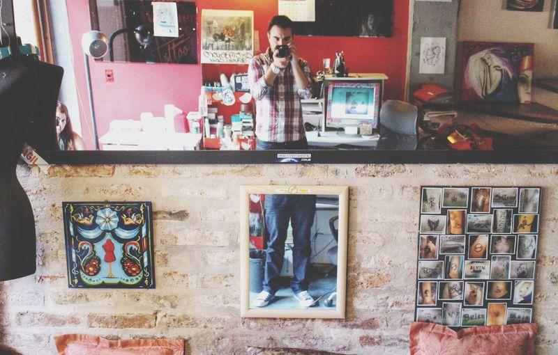 Studio Time  Tattoo by Popckorn