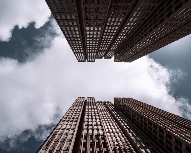 Skyward symmetry.