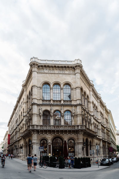 Cafe Central in Vienna Cafe Central City European  Vienna Adult Arch Architecture Austrian Building Exterior Built Structure Cafe City Cloud - Sky Day Landmark Large Group Of People Men Outdoors People Real People Sky Travel Destinations
