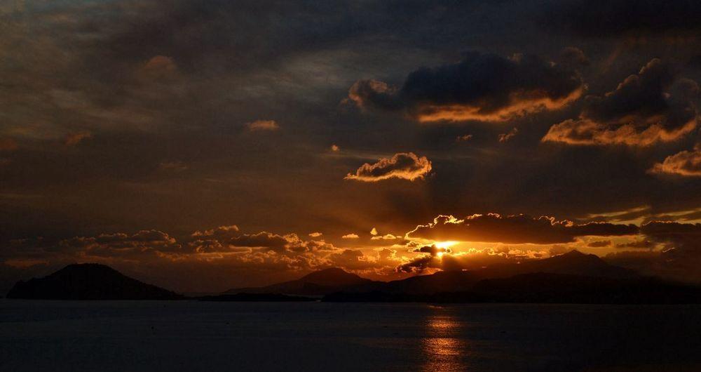 Weather Sunset Hello World