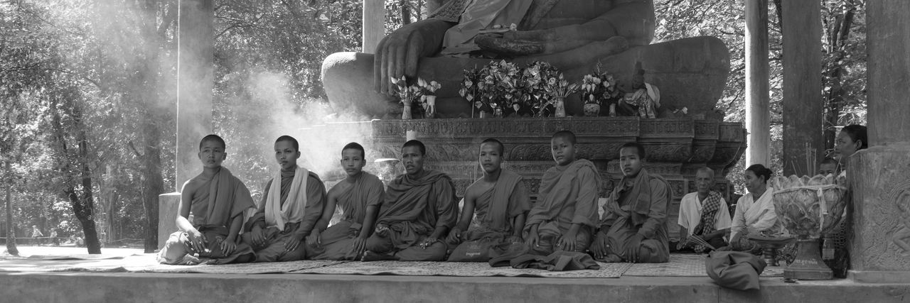 Mönche am