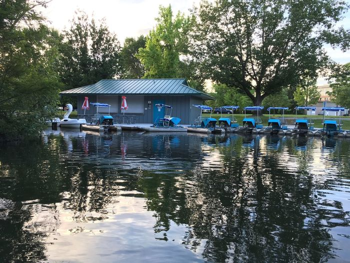 Julia Davis Paddle Boat Pond. Boise, Idaho. 6-7-17