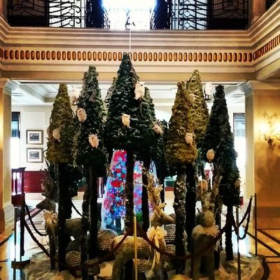 The Festive Season  begins in the country. Christmas Cheer Xmas Joy Luxury Hotel Newdelhi India Travel Instagood Instanice