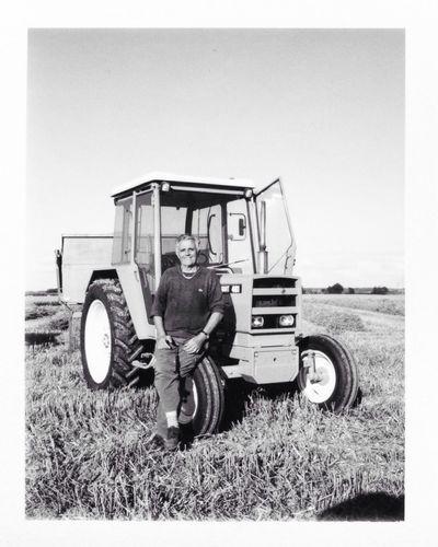 France Frankreich Portrait Farm  Polaroid Fujifilm