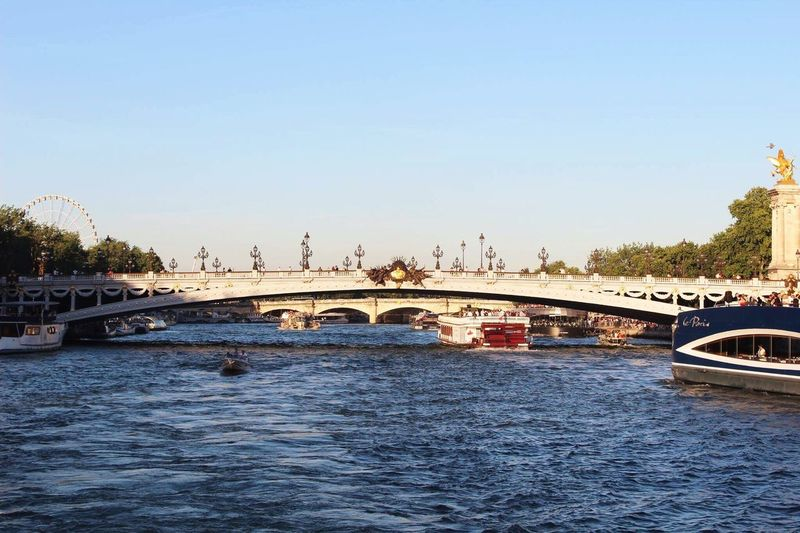 EyeEmNewHere Paris Bridge Famous Tourist Attractions  Bridge - Man Made Structure Travel Destinations