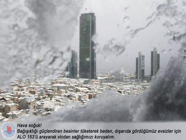 Ya işten geldiğinizde kapısını açacağınız bir eviniz olmasaydı? Aile Ev Huzur . Sevgi Güven Yardım Istanbul Turkey Kar Kış Soğuk Hava