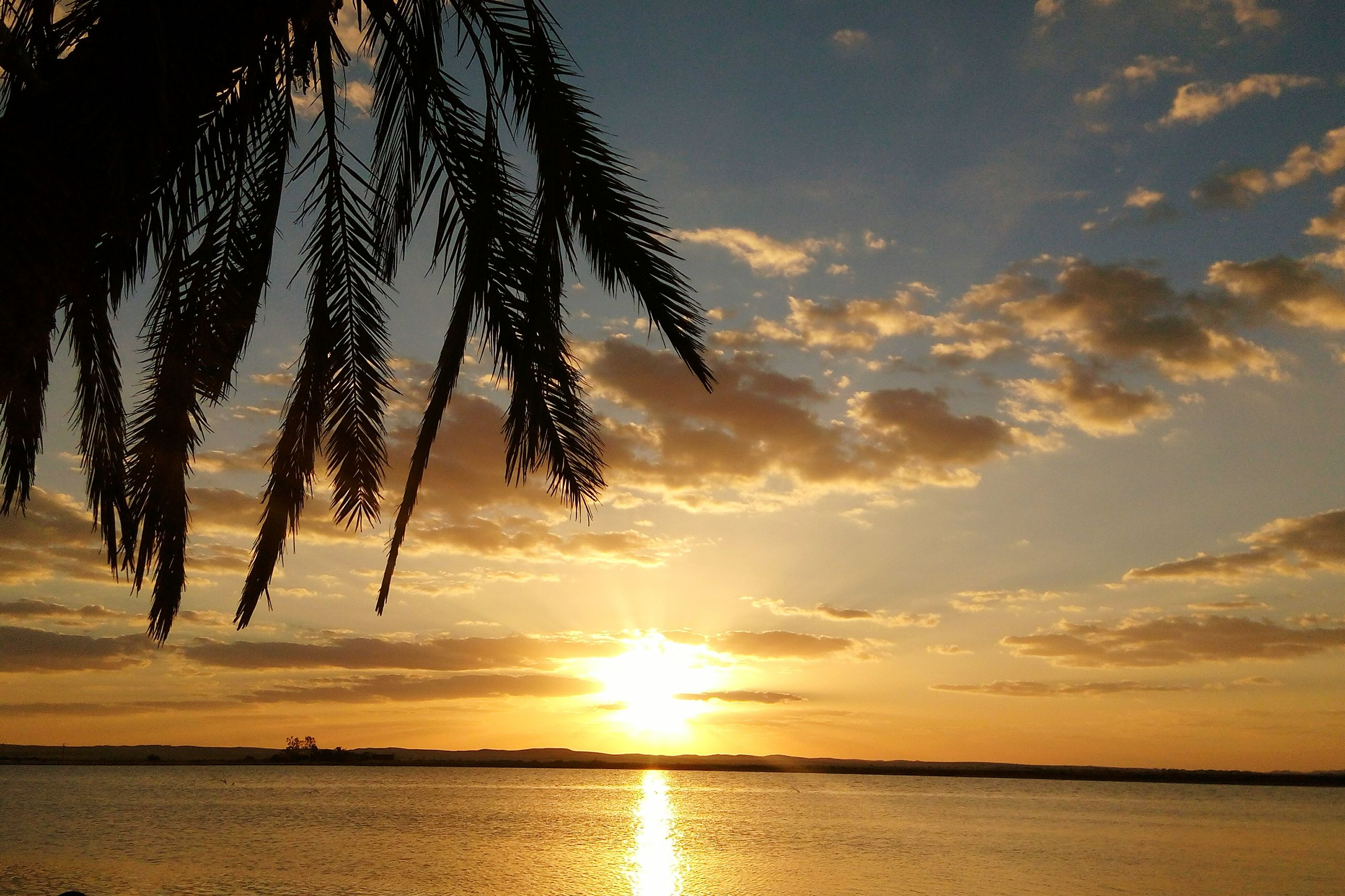 sunset, sunlight, nature, beauty in nature, sun, sky, silhouette, tranquility, sea, no people, sunbeam, water, outdoors, scenics, beach, day
