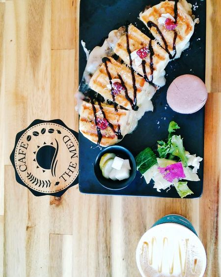 Bulgogi Mushroom Panini Lotte Fittin Panini Tlpicks Huffposttaste Foodspotting Italian Food Lunch Break Cafe Foodblogger Eyeem Food  Cafe The Med Dongdaemun Seoul South Korea ShareTheMeal
