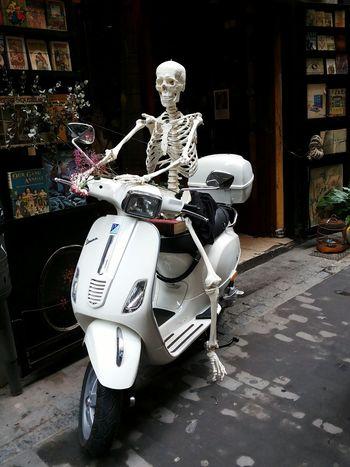 Halloweentime Halloweenideas Halloween! Halloween Horrors Happy Halloween Halloween_Collection Vespa Bike Biker