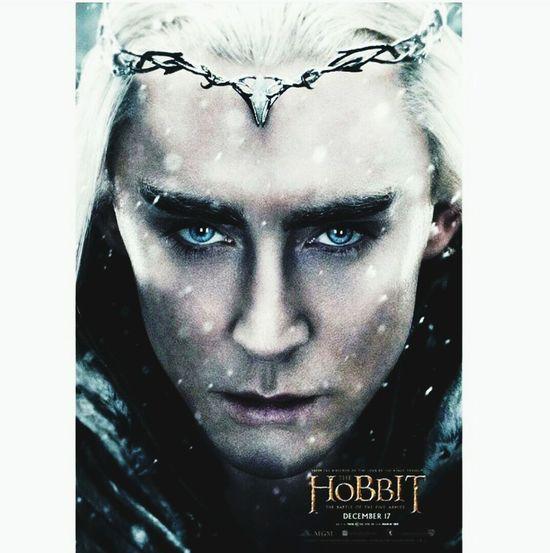LOTR Thranduil  Hobbit Legolas