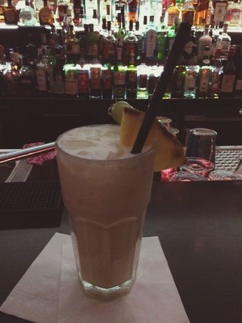 Last Day Hamburg Piña Colada Cocktail Favorite Bye Bye 😌🎉