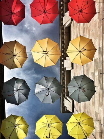 Your Ticket To Europe Europapark Rust Umbrella Umbrellas Colorful Colors Sky Schutz Regen Sonne Bunt
