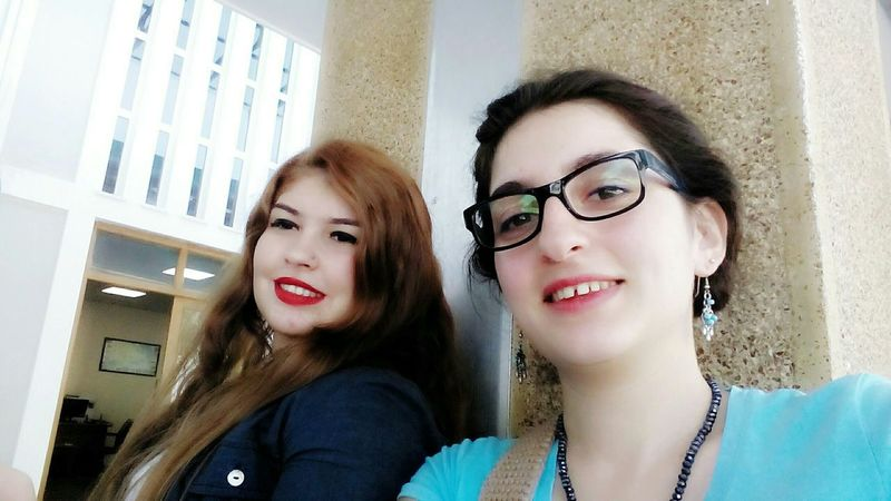 Taking Photos Selfportrait Selfie ✌ Redlips💋 Glasses Blue Tbt ❤ Throwback Girls Friends ❤