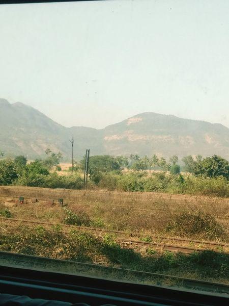Konkandiaries Landscape Nature Rural Scene Indianrailways Mountain Afternoon