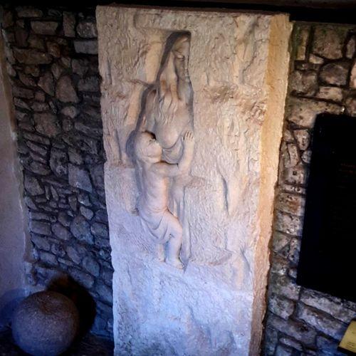 Rozafa Castle Legend Human Representation Shkoder Albania