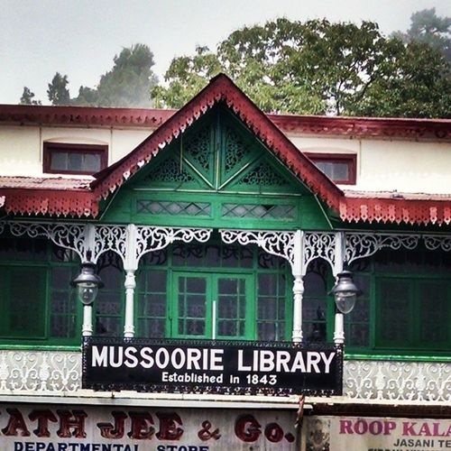 Mussoorie Library 1843 EstaBlished MallRoad