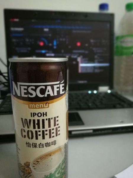 Let's drink. Nescafe Nestle Whitecoffee Milkcoffee