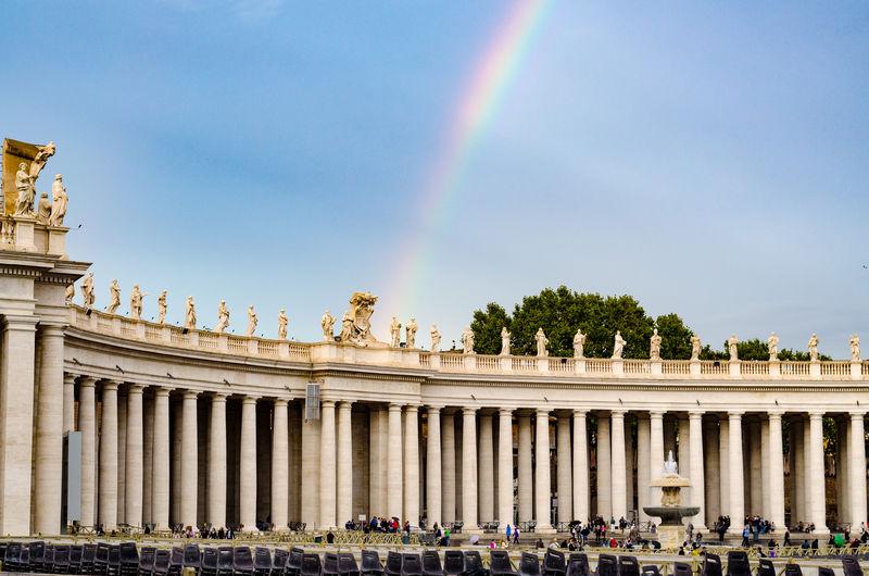 Vatican Rainbow Vatican Vatican City Rainbow