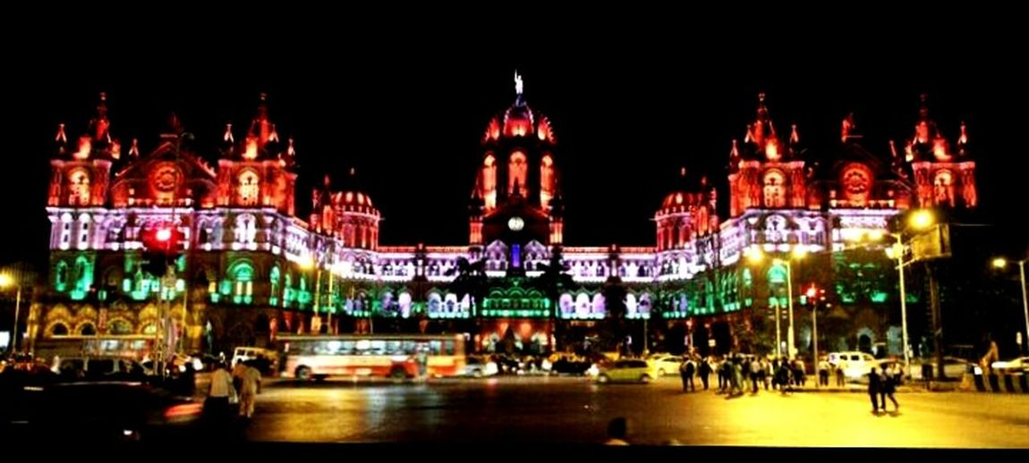 Erst while Victoria Terminus... Now CST Check This Out First Eyeem Photo