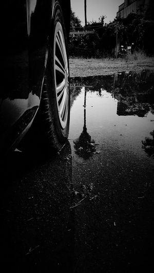 Black & White . Reflection .
