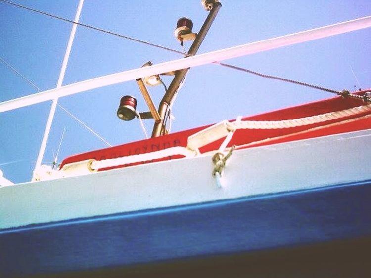 Greece, Crete Hersonissos Chersonissos Harbour Boat
