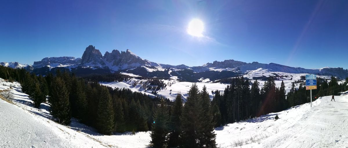 Morgana UNESCO World Heritage Site Christmas Holidays Huaweiphotography HuaweiP9 Dolomiti Italy Huawei P9 Leica Snow Mountain Winter Nature Scenics Pinaceae Pine Tree Landscape Mountain Range Forest Mountain Peak Cold Temperature Beauty In Nature Travel Destinations Sky Outdoors No People Vacations Day Tree